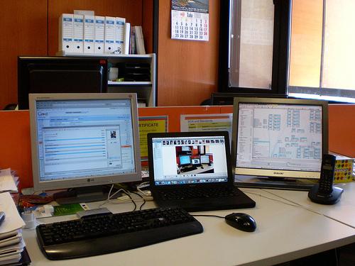 Ahorro de energía en el lugar de trabajo