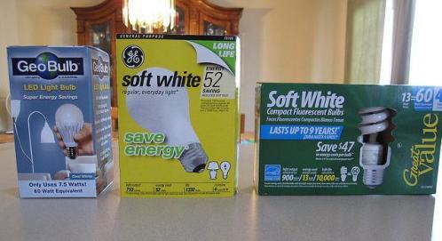 Ahorro en energía con el cambio del tipo de iluminación