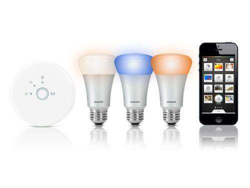 Ahorro en energía y control en iluminación con Hue de Philips