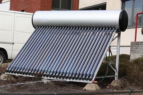 Calentador solar de agua para hoteles