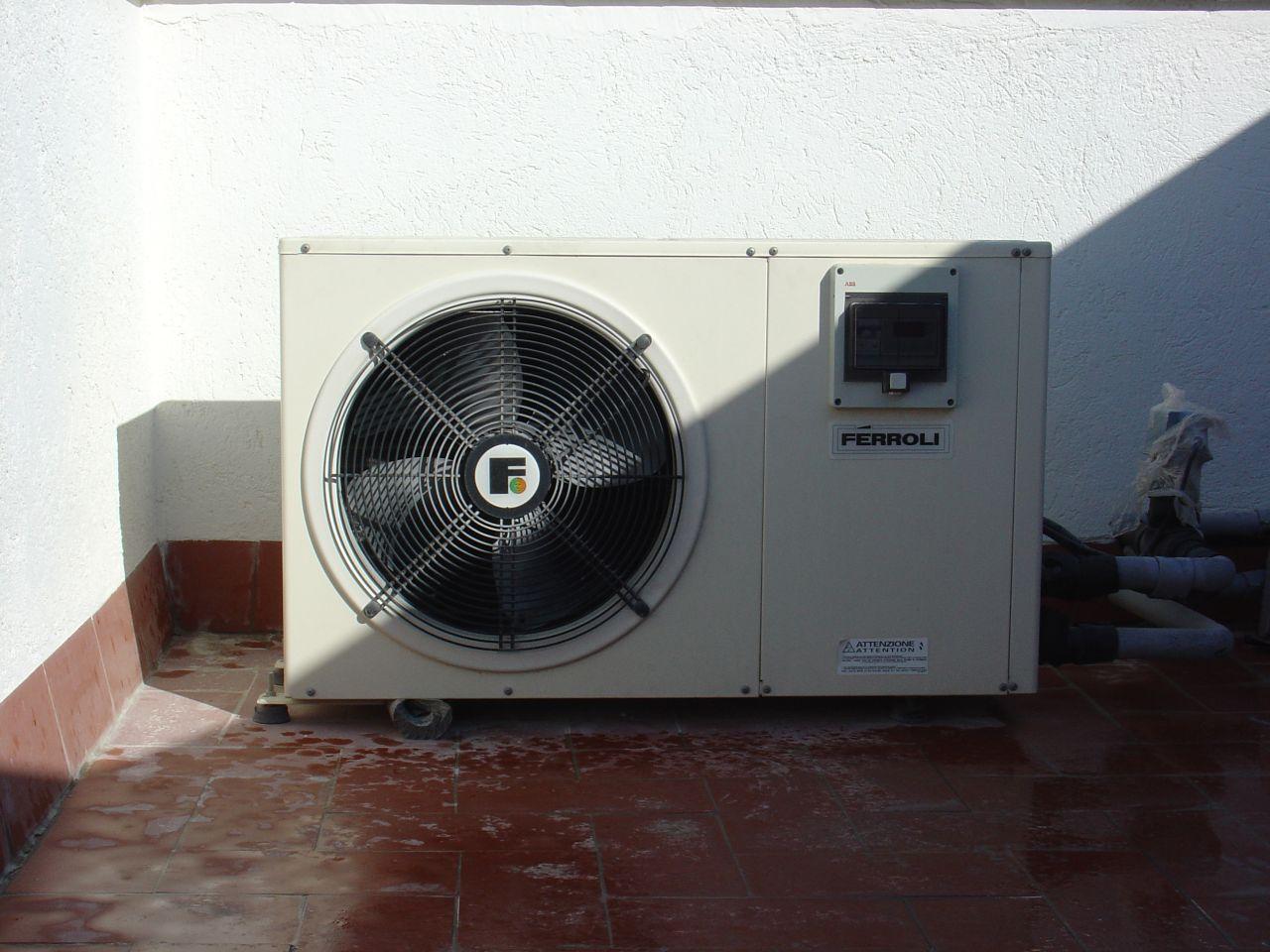 Bomba de calor de fuente de aire un aparato de - Bombas de calor para calefaccion ...